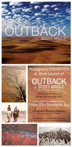 OUTBACK Book Launch & Exhibition Invitation